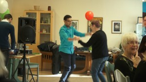 GOW in Sweden: learning ICT can be fun! Dancing together with the IT-GUIDES in Örebro