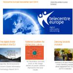 Telecentre Europe Newsletter April 2014