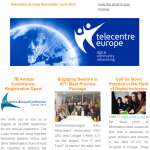 Telecentre Europe Newsletter June 2014