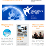 Telecentre Europe Newsletter May 2014