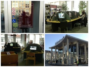 Openbare Bibliotheek - main library in Ghent