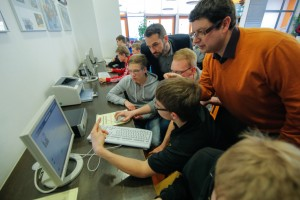 GOW14 in Germany – Group work to create a profile on the social network YouRock.jobs