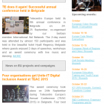 Telecentre Europe Newsletter October 2015