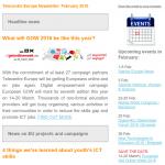 Telecentre Europe Newsletter February 2016