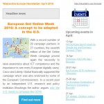 Telecentre Europe April 2016 newsletter