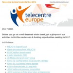 Telecentre Europe December 2016 newsletter