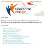 Telecentre Europe December 2016 newsletter