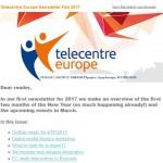 Telecentre Europe Newsletter February 2017